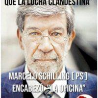 [Chile] Nunca traidor sempre inimigo. Marcelo Schilling.
