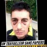 [França] Confinamento autoritário: um trabalhador sem documentos espancado pela polícia