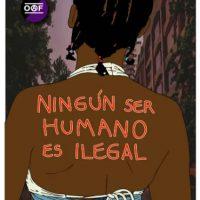 [Chile] Nenhum ser humano é Ilegal, Racismo é ignorância, Todes somos migrantes!