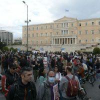 [Grécia] Multidão reúne-se em Atenas para protestar contra nova legislação ambiental