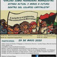[Chile] Diálogo sobre pedagogias anarquistas: estado atual e olhares para o futuro dentro do colapso capitalista