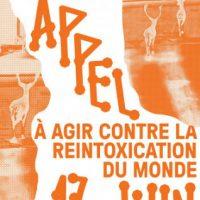 [França] 17 de Junho: Agindo contra o reenvenenamento do mundo