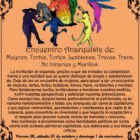 [Uruguai] Rumo ao Segundo Encontro de Mulheres e Dissidências Anarquistas