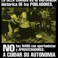 """[Chile] """"Que a solidariedade siga brotando e organizando-se em autonomia e rebeldia"""""""