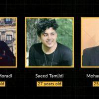 Três jovens esperam execução no Irã