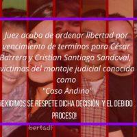 Presas e presos políticos na Colômbia