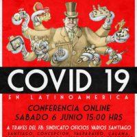 [Chile] Conferência online: Covid-19 América Latina – 06 de junho