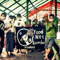 [Mianmar] Nós não precisamos de guerras!
