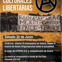 [Espanha] Jornadas Culturais Libertárias