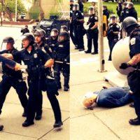 [EUA] Vídeo| Idoso é derrubado pela polícia e tem lesão cerebral durante protesto