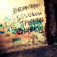 [Indonésia] Tulungagung: Solidariedade com os prisioneiros anarquistas de Makassar e Tangerang