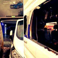 [Grécia] Ataque incendiário contra uma concessionária Ford em Atenas