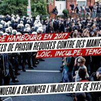[França] G20 em Hamburgo, em 2017: anos de prisão pedidos contra os manifestantes