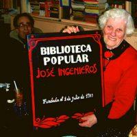 [Argentina] Morre, aos 100 anos, a anarquista Armonía Borrás