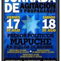 [Chile] Jornada de agitação e propaganda, 17 e 18 de julho