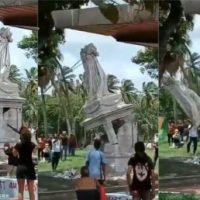 [Martinica] Estátua da 1ª esposa de Napoleão é derrubada em protesto
