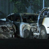 [Canadá] Incêndio de 7 carros de polícia na garagem de serviço SPVM