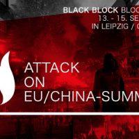 [Alemanha] Contra a Cúpula UE-China em Leipzig