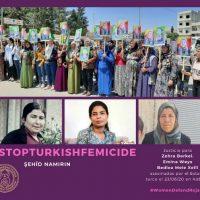 [Espanha] Women Defend Rojava Madrid condena o brutal ataque da Turquia contra Helîncê