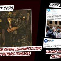 [França] Macron no Líbano