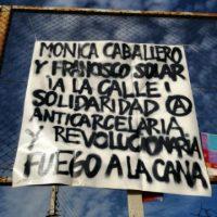 [Chile] Comunicado do preso anarquista Joaquín García Chancks a respeito da prisão de Mónica e Francisco