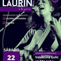 """[Chile] """"Live"""" solidária para arrecadar fundos para o Órgão Anarco Feminista com a cantora Laurin Lamusiquera"""