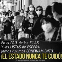 [Chile] O Estado não te cuida só te explora, te expõe e te assassina