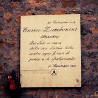 [Itália] Memória | Enrico Zambonini. Anarquista, fuzilado por causa de sua luta enérgica contra todas as formas de poder e exploração