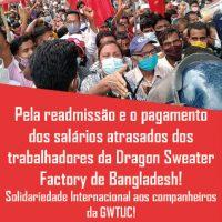 CIT | Chamado de Solidariedade para as trabalhadoras e trabalhadores de Bangladesh