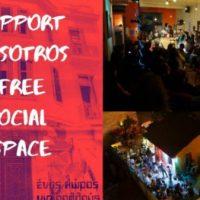 [Reino Unido-Grécia] Atenas: Apoie o Espaço Social Livre Nosotros