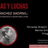 """Live"" neste sábado | ""Lucía Sánchez Saornil: anarquista antifascista e escritora livre"""