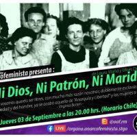 """[Chile] Ciclo de filmes anarcofeministas: """"Ni dios, ni patrón, ni marido"""""""
