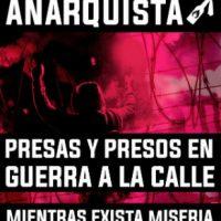 [Colômbia] Semana Internacional de Solidariedade com os Prisioneiros Anarquistas