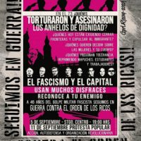 [Chile] Combate frontal e organização revolucionária contra o fascismo e o capital