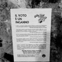 [Itália] O voto é um engano