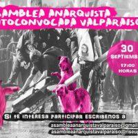 [Chile] Assembleia Anarquista Autoconvocada Valparaíso – 30 setembro