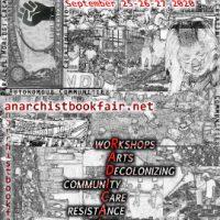 [EUA] 14ª Feira do Livro Anarquista Virtual de Nova York, dias 25, 26 e 27 de setembro de 2020
