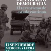 [Chile] Santiago: Algumas palavras em 11 de setembro