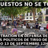 [Espanha] Madrid: Comunicado de imprensa dos postos políticos de Tirso de Molina