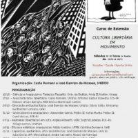 """Curso de extensão """"Cultura Libertária em Movimento"""""""