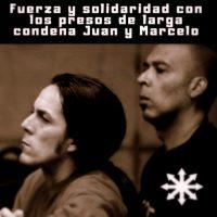 [Chile] Força e solidariedade concreta com os companheiros Juan Aliste e Marcelo Villarroel