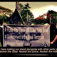 [EUA] Vídeo | Acabe com a Lei Antiterrorista - Solidariedade com as Filipinas