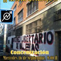 [Espanha] Ameaça iminente de despejo do Ateneu Libertário de Vallekas