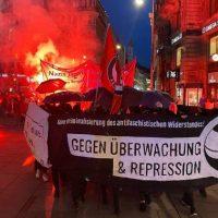 [Áustria] Viena: Marcha antifascista contra os sistemas de vigilância e repressão!