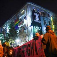 [Alemanha] Berlim: Milhares vão às ruas de Friedrichshain contra a expulsão da okupa Liebig34