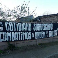 """[Chile] """"Construamos um novo mundo com luta e organização!"""""""