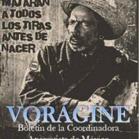 [México] Vorágine #0, boletim mensal da Coordenadora Anarquista do México