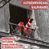 [Chile] Assembleia Anarquista Autoconvocada Valparaíso – 07 de outubro