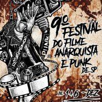 9° Festival do Filme Anarquista e Punk de São Paulo, em dezembro