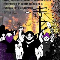 "[Chile] ""Circulo Anarcofeminista Ni Amas Ni Esclavas"" um ano após o estalido social"